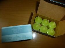 Partylite 12 Votivkerzen grüner Apfel neu V06520