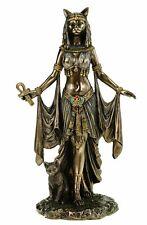 Veronese Dekofigur ägyptische Göttin Bastet 26cm Ägypten Pharao Figur bronziert