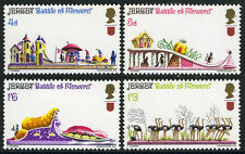 Jersey 30-33,Mi 30-33,Mnh.Battle of Flowers annual parade.Ostriches,trees, 1970