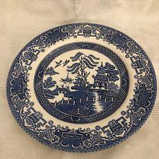 """One English Ironstone.  9 3/4"""" Diameter Plate"""