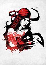Marvel Comics metal-póster the defenders Elektra Assassin 32 x 45 cm