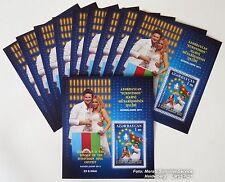 Eurovision Song Contest Briefmarke 2011, Aserbaidschan / Baku, 10x postfrisch