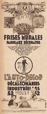 Y8644 L'Auto-Decor - Décalcomanies Industrielles - Pubblicità d'epoca - 1932 Ad