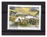 S17884) Italy MNH 1986 Bezzecca Battle 1v