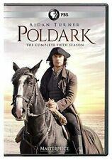 Masterpiece  Poldark - Season 5 (DVD, 2019, 3 Discs) Free Shipping US Seller