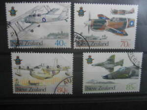 NEW ZEALAND USED SET- 1987 50th ANNIVERSARY RNZ AIR FORCE  SG 1423/6