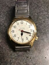 """Bulova Accutron  1986 Railroad Approved Vintage Date N6 Runs Perfect  Nice"""""""