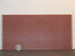 Dollhouse Miniature Brickmaster Brick Sheet 1:24 half inch P32 Dollys Gallery