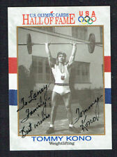 Tommy Kono #48 signed autograph auto 1991 Impel Olympic Hall of Fame Card