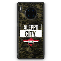 Aleppo City Camouflage Syrien Silikon Hülle für Huawei Mate 30 Pro Motiv Desi...