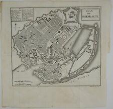 COPENHAGEN 1786 DANMARK KØBENHAVN KORT DENMARK COPPER ENGRAVING MAP WILLIAM COXE