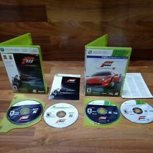 Forza Motorsport 3 & Forza Motorsport 4 Xbox 360 Bundle Lot Tested Free Shipping