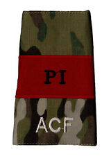 Pair Multicam MTP ACF Potential Instructor PI RANK SLIDES ( Army Cadet Force