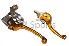 Super Mini Pocket Bike CNC Clutch & Brake Lever 110cc X15 X18 X19 X22 Gold Parts
