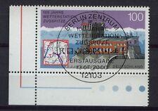 Alemania 2000 Sg # 2974 estaciones meteorológicas Cto Usado