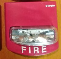 SIMPLEX 4904-9331  FIRE ALARM STROBE