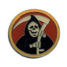 Wholesale Lot of 12 Grim Reaper Lapel Hat Cap Pin USA SHIP