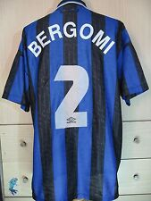 BERGOMI GIUSEPPE INTER MILAN 1996 ITALY PLAYER FOOTBALL SHIRT VINTAGE JERSEY XL