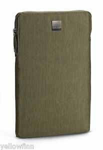 """Apple MacBook Air 11"""" Zip Case Cover Sleeve Acme Made Montgomery Olive Green"""