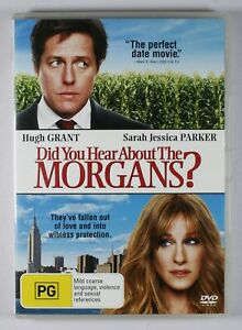 Did You Hear About The Morgans DVD FREE POST