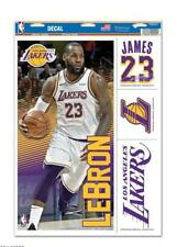 Lebron James los Angeles Lakers 4 Pegatina Decal Insignias Set NBA Basketball