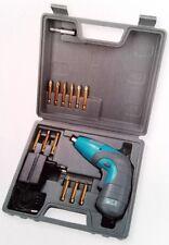 Tchibo T-AS 3,6-3 Mini Akkuschrauber 4510719 Li-Ion 3,6V inkl. 12 Bits im Koffer