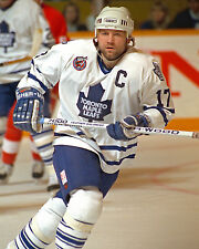 Wendel Clark - Maple Leafs 8x10 Color Action Photo