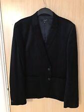Men Black Velvet Coat Size M-L
