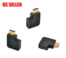 """"""" L"""" Shape HDMI 19pin Female to Male Angle 90-degree Gold Plated Adapter"""