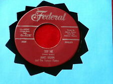 JAMES BROWN~ TRY ME~ ODD PRESSING~ RARE~ NEAR MINT~ TELL ME WHAT I DID~ FUNK  45