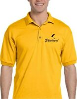 Look sharp! - Skydiving swoop logo polo shirt in your choice of colors