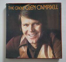 Glen Campbell - UK 7 x Audio Cassette Tapes - World Records - 7 x NM - Box Good.