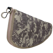 """Pistol Soft Padded Rug Case Hand Gun Storage with Zippered Pouch Bag Pocket 13"""""""