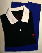 NWT American Eagle Outfitters AEO Men's【L】Classic Fit Colorblocked Polo