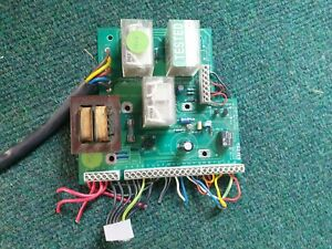 Minivator AC stairlift main PCB assembly - Used.