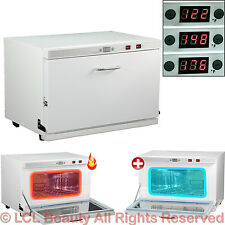 Digital 3 Temperature Hot Towel Warmer Cabinet UV Sterilizer Spa Salon Equipment