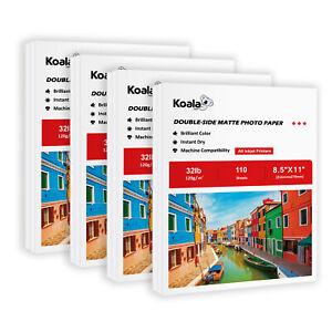 440 Sheets Koala Double Side Matte 32lb Inkjet Printer Photo Paper 120g 8.5x11