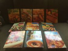 Set Of 10 Practical Cookbooks And Stand