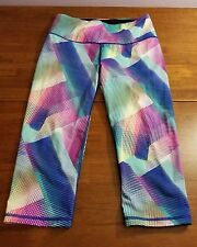 Victoria's Secret SPORT VSX Multi-Color Knockout Yoga Pants Pink Leggings Small