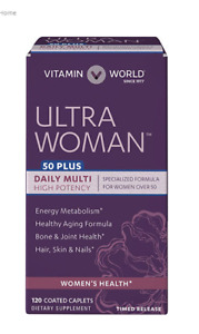 Ultra Woman™ 50 Plus Daily Multivitamins 120 coated caplets