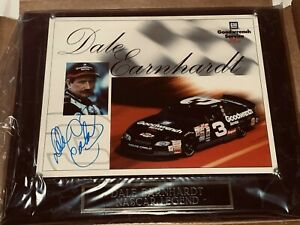 Dale Earnhardt 1999 GM GOODWRENCH SERVICE PLUS #3 8x10 signed HERO photo w/COA 5