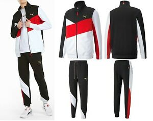 MEN'S PUMA FASHION AS FRENCH TERRY TOP TRACK JACKET + MATCHING PANTS TRACKSUITS