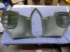 1968-1972 GM Buick Skylark GS Chevy Chevelle kick panels vents green