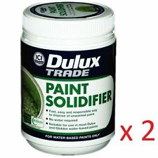 2 x Dulux® Paint Solidifier DIY Paint Hardener Fast Dry Universal Activator 500g