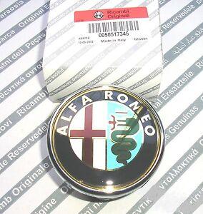 ALFA ROMEO 159  New Genuine Rear Emblem Boot Badge 50531454 ( PUSH TYPE )