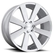 "4ea 24"" Dub Wheels 8 Ball S213 Brushed Silver Rims(S10)"