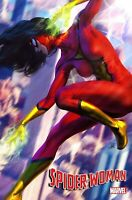 SPIDER-WOMAN #1 ARTGERM VARIANT 2020 Marvel Comics COVER C