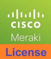 Cisco 1-Year Advanced Security License and Support Meraki MX64 Cloud Controller