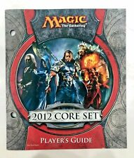 Magic the Gathering - 2012 core set - Player's Guide ONLY