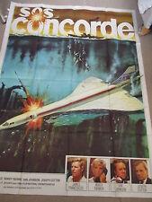 Affiche Film originale; SOS CONCORDE ; DEODATO- 158 X 118 Cm